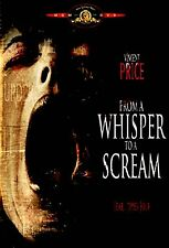 BRAND NEW DVD // FROM A WHISPER TO A SCREAM // VINCENT PRICE // 1987 HORROR