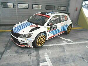 Skoda Fabia r5 Rally de Monte Carlo 2017 kopecky 1:18 Ixo foxtoys 18010 nuevo