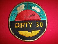 US Air Force The DIRTY THIRTY Combat Pilots - Vietnam War Patch