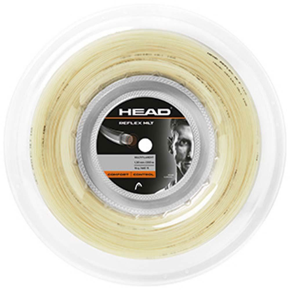 HEAD REFLEX MLT 16 natural tennis racquet string 660 foot 200M reel - Reg