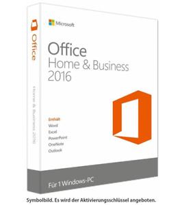 Microsoft Office Home and Business 2016 [32 Bit & 64 Bit] ✔ KEY SOFORTVERSAND ✔