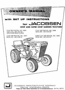 jacobsen chief wiring diagram wiring diagram Wheelhorse Wiring Diagram jacobsen chief models 800 1000 1200 and super chief tractor operatorimage is loading jacobsen chief models
