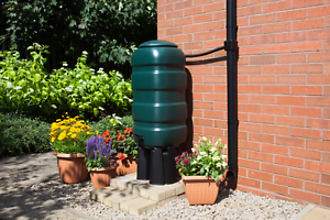 NEW Premium Water Butt Kit Rainwater Barrel Choice 100-250 Litre Round & Square