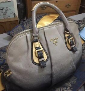 f640cedd529c Image is loading Prada-Vintage-Weekend-Ombre-Leather-Rare-Handbag-Large-