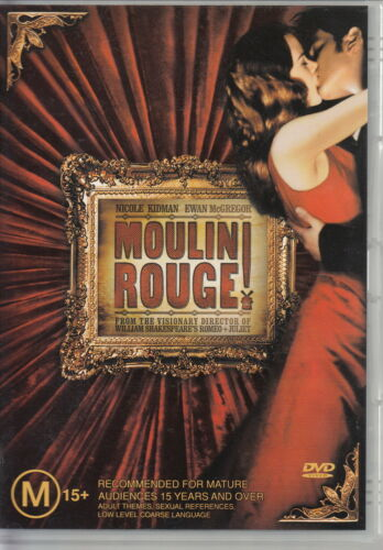 1 of 1 - Moulin Rouge (DVD, 2003) - DVD REGION 4