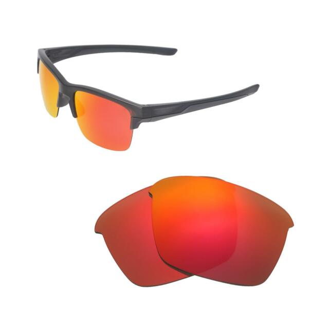 8f8a38aee9 New Walleva Fire Red Polarized Replacement Lenses For Oakley Thinlink  Sunglasses