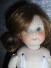 """ANTIQUE 8"""" REPRODUCTION GOOGLY (GERMAN #243)  BISQUE HEAD DOLL"""