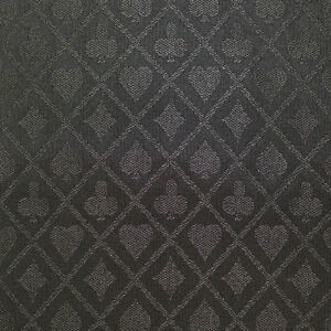 Poker table cloth 10 feet Speed cloth suited black