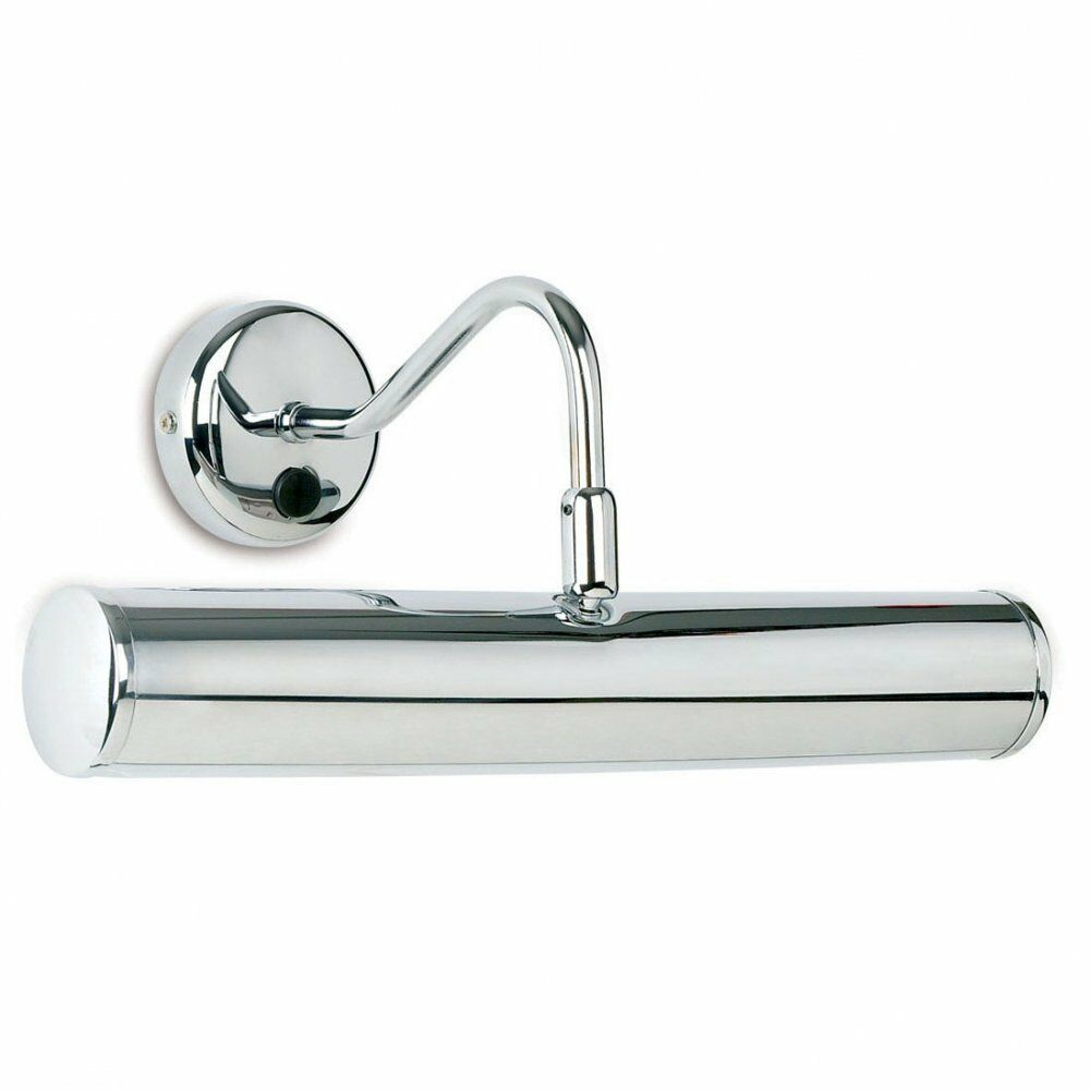 ENDON PL350-E14-SWCH MODERN CHROME PICTURE LIGHT WITH PUSH SWITCH