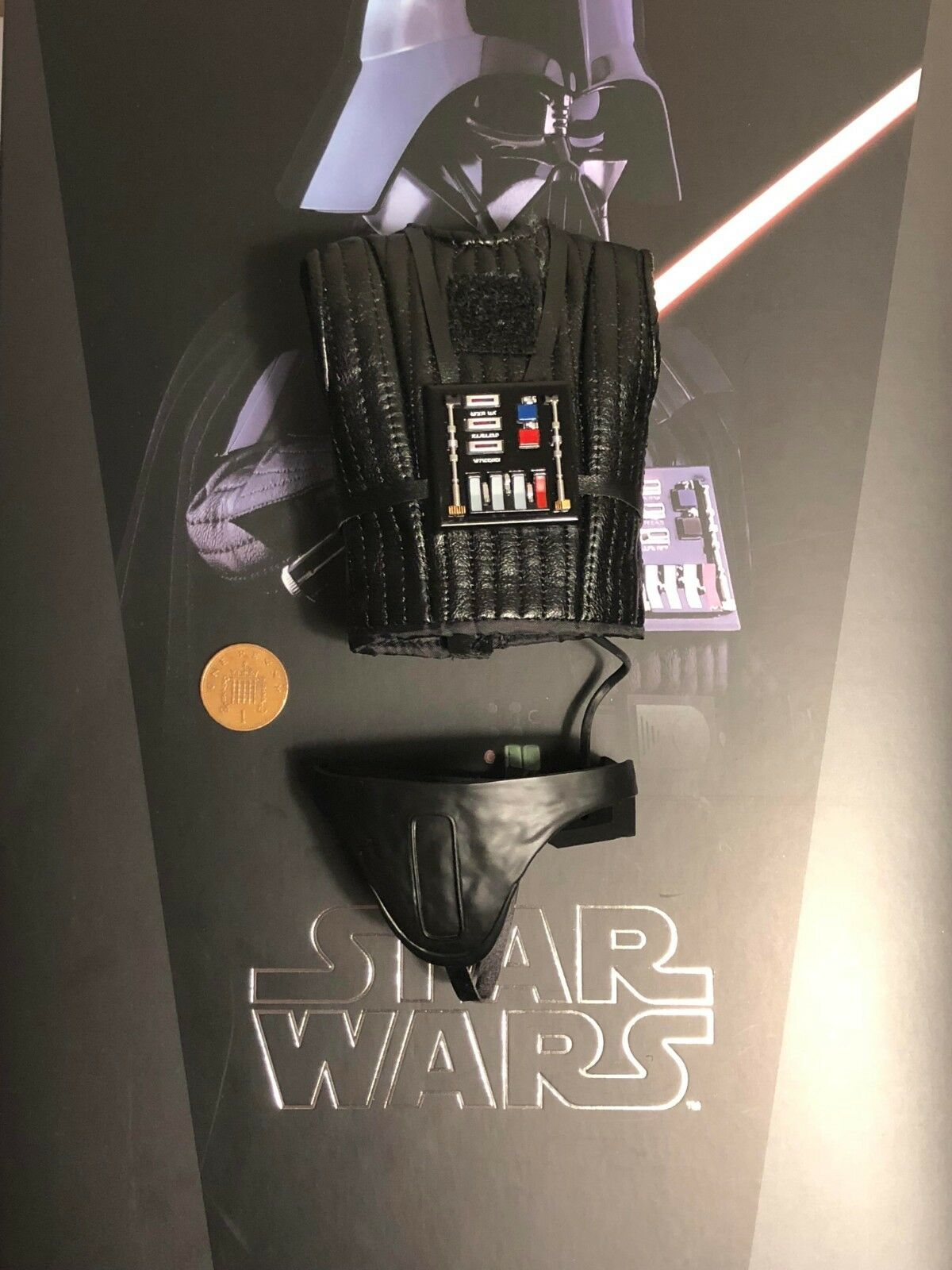 Caliente  giocattoli estrella guerras ESB Darth Vader MMS452 Canotta & LED sul petto scatola Loose SCALA 1 6th  vendendo bene in tutto il mondo