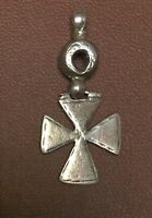 India Old Ethnic Tribal Silver Amulet Pendant