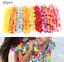 36//50X Set Hawaiano Hula Fiore Collana Ghirlanda LEI Party Dress accessorio UK