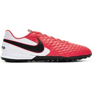 Chaussures de football Nike Tiempo Legend 8 Academy Tf AT6100 606 or rouge