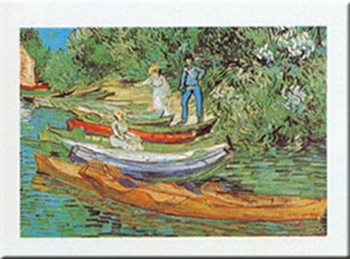 Boats To Rent by Vincent Van Gogh 20x16 Museum Art Print Poster
