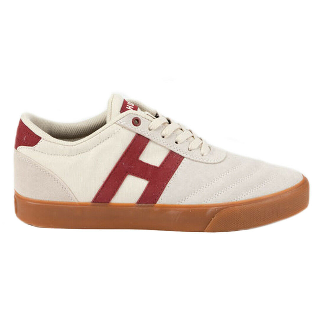 HUF  Galaxy  Sneakers (Bone) Men's Canvas Suede Skating Vulc Low-Top shoes
