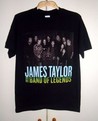 JAMES TAYLOR AND HIS BAND OF LEGENDS - 2008 TOUR OFFICIAL TOUR T