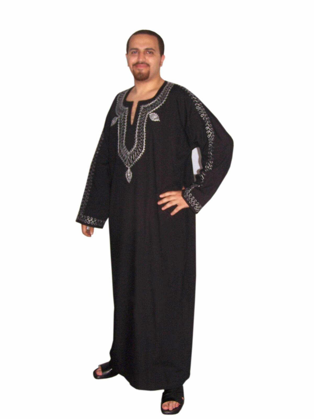 Wunderschöner eleganter Moderner Herren Kaftan aus1001 Nacht in schwarz KAM00174 | Up-to-date-styling