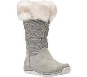b05f623e60982 Details about NIB Timberland Hollyberry Pull-On Boot 322995 33906 WHEAT OR  GREY JUNIOR'S