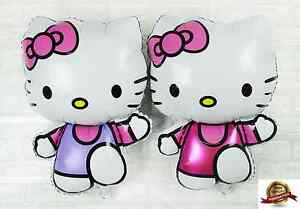 KING-SIZE-HUGE-HELLO-KITTY-HELIUM-GAS-Foil-Balloons-For-Birthday-Wedding-Party
