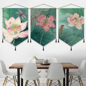 1X-Print-Cotton-Linen-Tapestry-Hanging-Flag-Banner-Home-Wall-Decor-Lucky-Modern