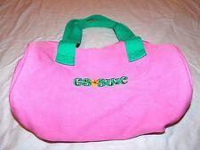 Girl Scouts Swift Water Mini Duffel Bag Council Messenger Pink Green VT NH