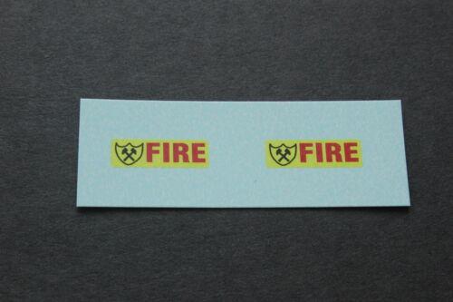 Matchbox transferencias//Calcomanías 22e Blaze Buster