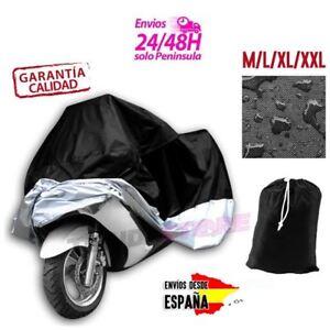 Funda-Impermeable-Protectora-Cubre-Moto-Cosida-Muy-Resistente-Tallas-M-XXL