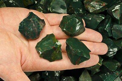 "2 Pounds of Bloodstone Rough - ""AA"" Grade - Cabbing, Tumble Rocks, Reiki"