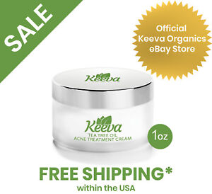 Keeva-Organics-Acne-Cream-Fights-Acne-Spots-Scars-Cystic-amp-Hormonal-Acne-1oz