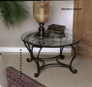 MEDALLION FLORENCE COFFEE TABLE GLASS TOP /HOUZZ