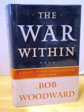 THE WAR WITHIN Bob Woodward Book Hardcover Obama Secret White House History HC