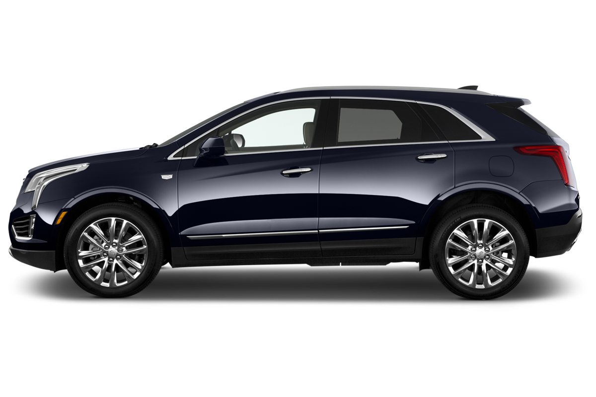 Cadillac XT5 side view