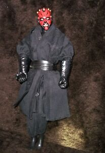 Vtg Star Wars Darth Maul Sith 12 C-022e ~ Hasbro 1993 Action Figure Doll C-022e ~ Hasbro 1993