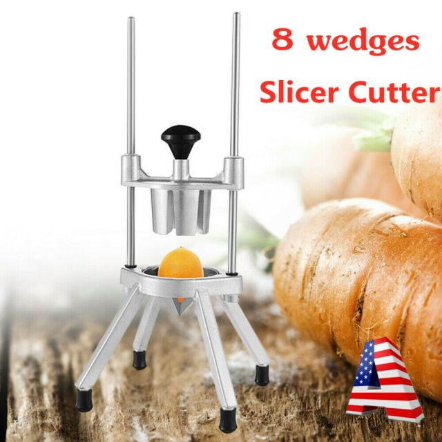 4 Section Commercial Fruit Vegetable Lemon Lime Wedge Cutter Wedger Slicer NSF