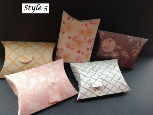 Gift//Pillow//Favour Boxes for all Occasions Various Designs in sets of 6
