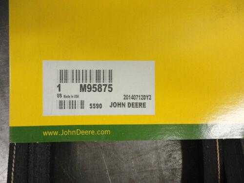 JOHN DEERE Genuine OEM Secondary Mower Belt M95875 48 deck F525 s//n below 130000
