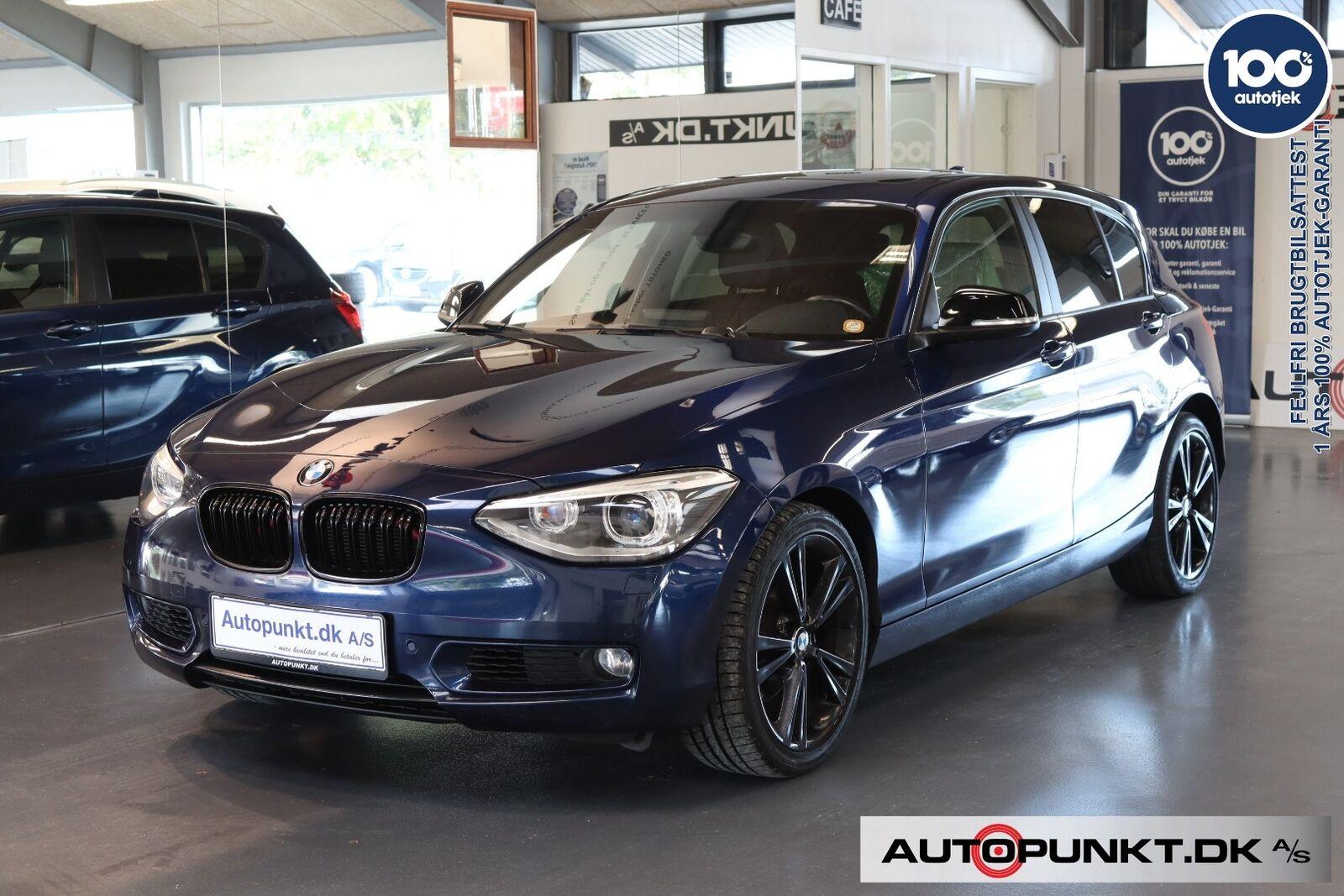 BMW 120d 2,0 aut. 5d - 189.700 kr.