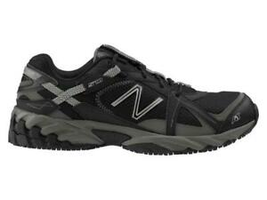 New Balance 570 SUREGRIP  Work Womens Black/Silver Sneakers  Sz 5 B