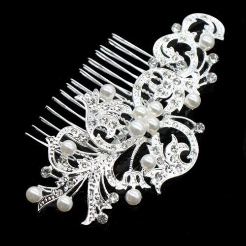 Crystals /& Pearls Wedding Hair Comb Jewels Fifty Shades Freed 50 Shades of Grey