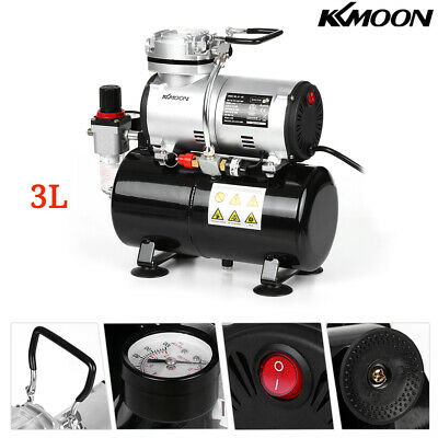 Red Portable Mini Size Spray Pump Pen Air Compressor Set Airbrush Kits Nail H0O6