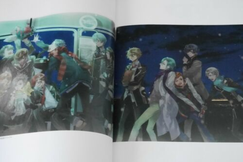 """JAPAN Starry Sky Official Guide Complete Edition /""""Winter Stories/"""" Art Guide Book"""