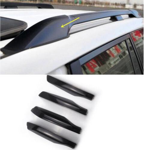 for Toyota Land Cruiser Prado fj150 2010-2018 Silver Roof Rack End Cover Cap 4pc