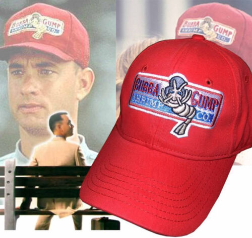 Bubba Gump Shrimp CO Baseball Cap Forrest Gump Costume Embroidered Snapback Hat