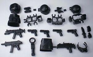 No22 1 Custom Lego Swat Police Helmet Gun Army Weapons Lego