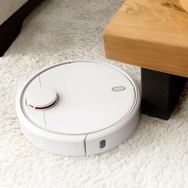 Original Xiaomi Wifi Cleaner Mini Robot APP Remote Control 5200mah Home Sweeper
