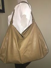 NEW WITH TAG BOTTEGA VENETA WAXED NAPPA LEATHER BROWN SATCHEL TOTE HANDBAG BAG