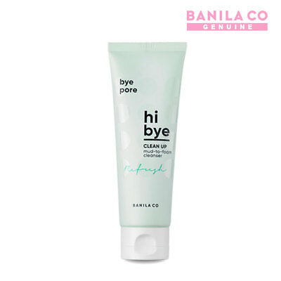 BANILA CO hi bye Clean Up Mud To Form Cleanser 120ml 4.05fl.oz Face Cleansing