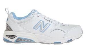 Sz da Sneakers 5 in cross biancoblu 2e Wx857wb donna training pelle New Balance Ac3qRj4L5