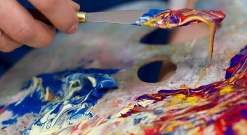 Engel Ölbild Bild Bilder Gemälde Ölbilder Mit Rahmen 46X56CM G05721