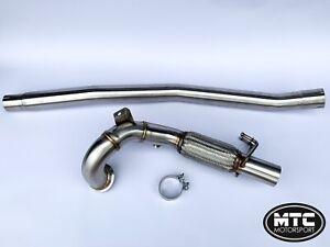 MTC-MOTORSPORT-VW-GOLF-MK7-GTI-STAINLESS-STEEL-DECAT-DOWNPIPE-EXHAUST-PIPE-3